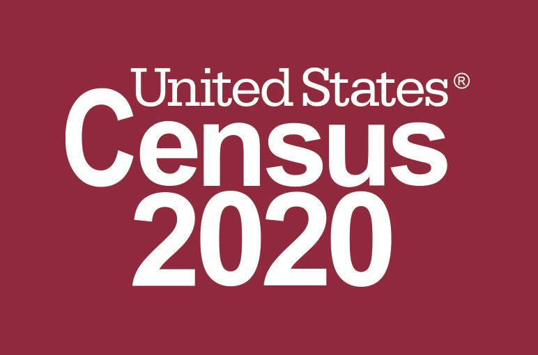 2020 Logo_Census 2020_Reversed_Red_Preferred