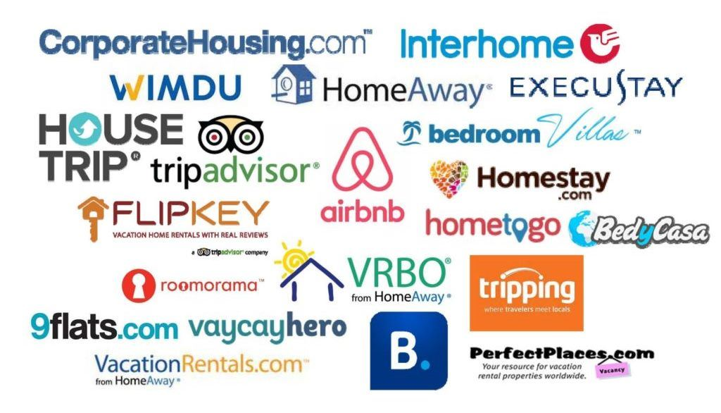 Short Term Rental Companies collage