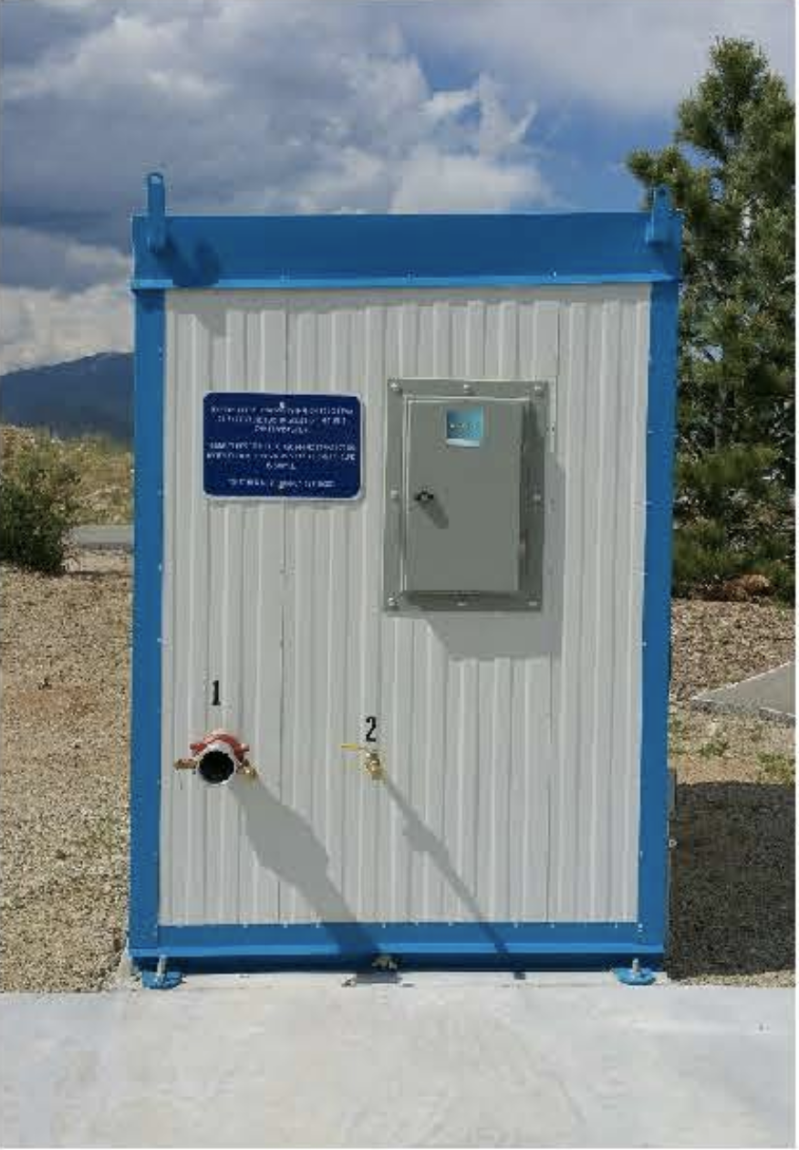 Water Fill Station for Campers in Buena Vista, Colorado